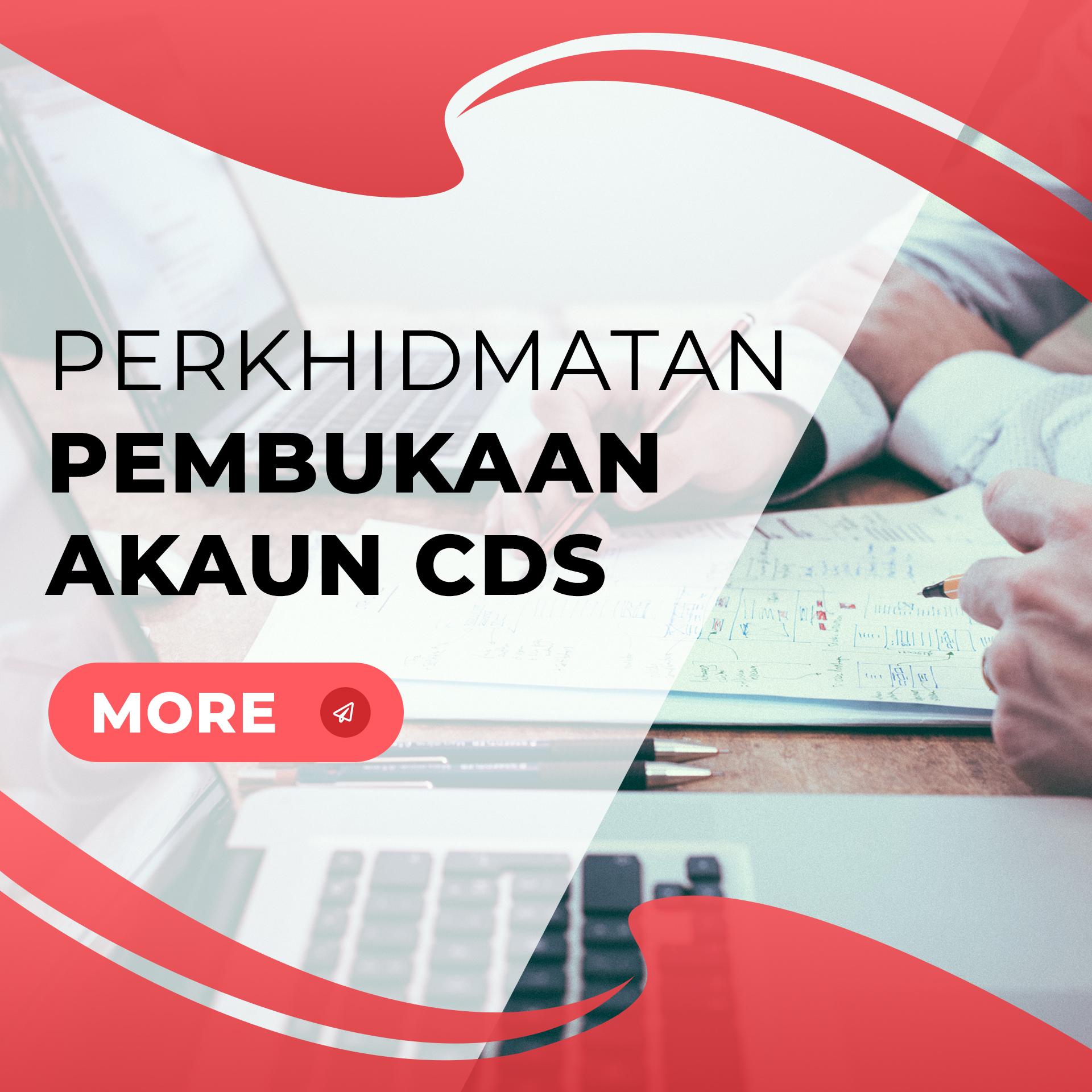 Perkhidmatan pembukaan akaun CDS